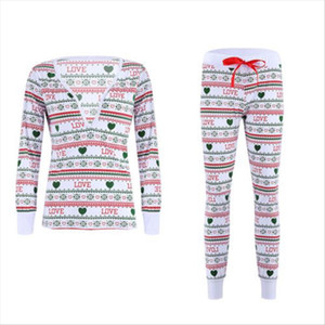 women tracksuit Kids Adult Christmas Pajamas Set Family Matching Pyjamas Sleepwear Nightwear Lady Woman Drop Shipping