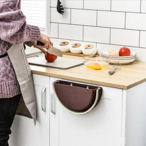 Waste Bin Garbage Basket for Kitchen Bathroom Hanging Trash Bin Kitchen Cabinet Door Toilet Desk Waste Storage Box Wall Fashion