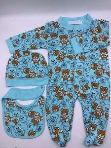 Novo bebê macacão primavera outono bebê menino roupas nova romper algodão recém-nascido meninas kids designer jumpsuits roupas