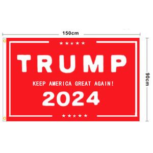 Trump Flag 2024 Election Flag Banner Donald Trump Flag Keep America Great Again Ivanka Trump Flags 150*90cm CCA2741