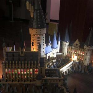 Pour les blocs définis 16060 Building 71043 Lampes de lumière LED Harry Series Bricks Toysonly Movie modèle Puissance Le château YXLIMP LY_BAGS
