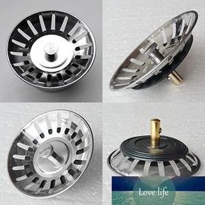 1pc Stainless Steel Kitchen Sink Strainer Drains Filter Stopper Waste Plug Bathroom Lavabo Hair Colander Catcher