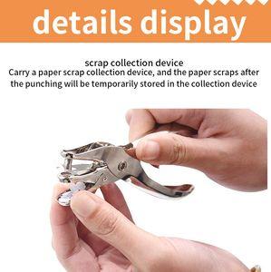 DIY sheet puncher Mini Heat hand tool shrinkable stationery paper multifunctional 6mm binder