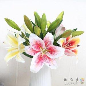 1 ADET Güzel Tek Kök Yapay Çiçek Ipek Çiçek Manolya Denudata Ev Düğün Dekorasyon Hediye F562