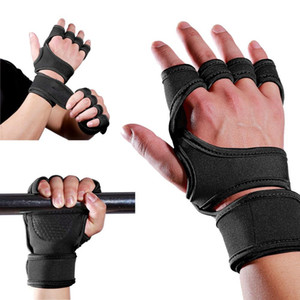 Palm weight lifting Fitness Gloves protection Bracelet Wrist Support men and women training muscle strength gloves