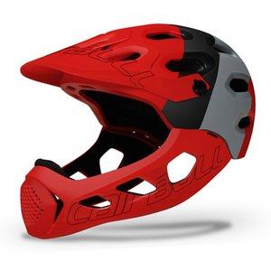 Cairbull Allcross Mountain Cross Bike Full Helm Extreme Sport Safety Helm DGAD004