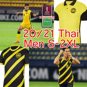 2020 2022 Малайзия Национальная команда Футбол Джерси 20 21 Малайзия Главная Желтый прочь Black Safawi Rasid Talaha Norshahrul Ldlan Мужская футболка