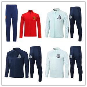 2020 스페인 성인 재킷 운동복 camiseta 에스파냐 라모스 파코 알카 세르 모라 타 티아고 사울 파브레가스 21분의 2,020 축구 자켓 트레이닝 복