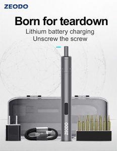 ZEODO Cross-Border New Electric Screwdriver Charging Adjustable Torque Mini Screwdriver Anti-skid Electric Batch tH3x#