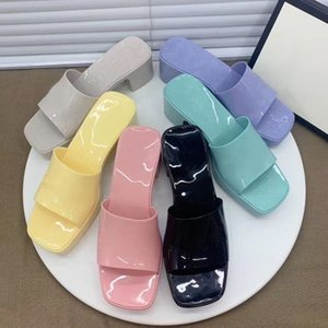 2020 leather loafers Muller Designer slipper Mens shoes with buckle Fashion Men Women Princetown slippers Ladies Casual Mules Flats 36-41