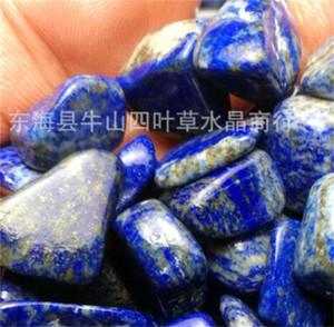 Naturstein Apis Lazuli Crushed Fishbowl fleischig Miniatur Rockery Unregelmäßige raue Verzierung Steine Ornamente Wassertank Heißer Verkauf 2 2SY M2