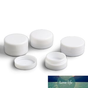 1000 X 1g 2g 3g 5g Mini White Plastic Empty Jar Pot Travel Cosmetic Sample Makeup Face Cream Containers Nail Art Organizer