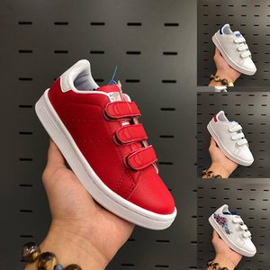 Kids Shoes Red blue Green White Children Stan Smith Superstar Kids Girls Boys Baby Children Skateboarding Shoes Casual Smith Sport Shoes
