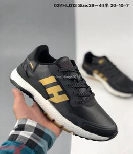 adidas nite jogger boost Nite jogger chaussures de course Triple blanc noir gris réfléchissant Xeno choc des femmes de formateurs hommes en plein air baskets sport 36-45