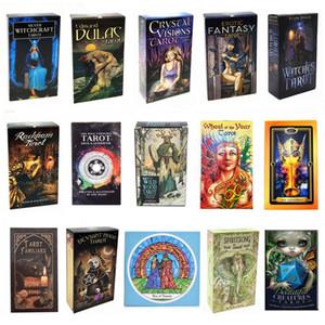 DHL Freies Schiff Tarot Deck Kartenbrett Gibstoff Lesen Liebe Mond in der Nähe von Anfängern Erotische Tarot von Manara Pagan Katzen Oracle