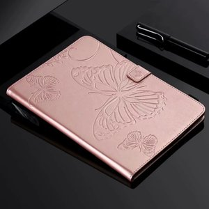 "Butterfly Embossed Tablet Case for iPad Pro Air Mini 1 2 3 4 7.9"" 9.7"" 11"" 2017 2018 and Samsung T830 T590 T580 T560 T550 T387 T380 T350"