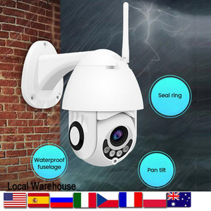 1080P HD IP CCTV Camera Waterproof Outdoor WiFi PTZ Security Wireless IR Cam 2MP Two Way Audio CCTV Security Video Network