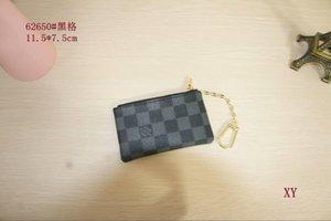 Bolsa de la llave pochette CLES bolsos del diseñador para mujer para hombre del anillo dominante del MONEDERO de lujoLVLOUISMini