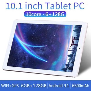 2020 Android 9.0 Dual Sim 128GB ROM 10 Inch 4G LTE Tablet PC 1280*800 HD Resolution Dual Cameras Octa Core 6G+128GB Tablet1