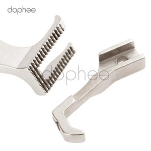 dophee 1pcs U192 U193 Synchronous Car Presser Foot Non-Trace Without Teeth Flat Bottom Industrial Spare Parts