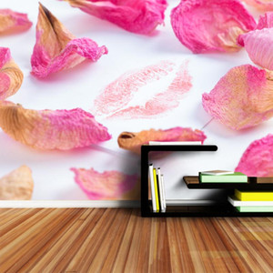 Nature Rose Petal 8d Silk Mural Photo Wallpaper 3d Contact Wall Paper Papers Home Decor Wallpapers for Living Room TV Murals Art