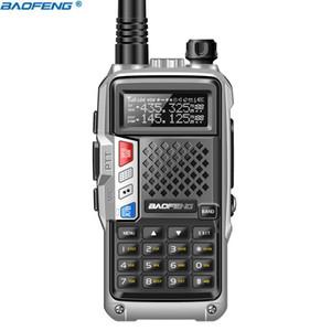 BaoFeng BF-UVB3 Plus Walkie Talkie Powerful CB Radio Transceiver 8W 10km Long Range Handheld Radio UVB3Plus for forest&city