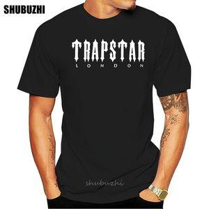 NEW Trapstar London логотип футболок S-5XL хлопка тенниски мужчин летом мода тенниска размера евро спорт Толстовка с капюшоном Толстовка