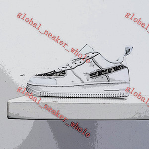 20s AF1 Luxury fashion shoes female progettista Low cut leather casual running outdoor shoes men and women LOW shoe 36-45