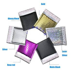 50pcs Cd cvd Packaging Shipping Bubble Mailers Gold Paper Padded Envelopes Gift Bag Bubble Mailing Envelope Bag 15* sqcBpn