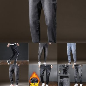 FEw Gallery Designer Jeans Flare jeans Mens dept Spring summer Ink Splash outdoor Retro High Pants Washed high quality Denim street