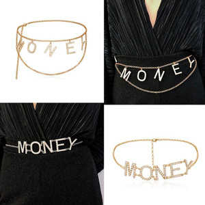 Crystal Metal Belt for Women Trendy Waist Accessories Wedding Party Jewelry Gifts Women Belt Body Jewelry