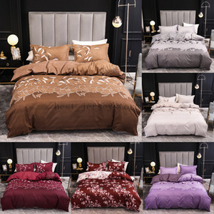 Duvet Cover Home textile Mulan three piece set European and American bedding, quilt cover and pillow case