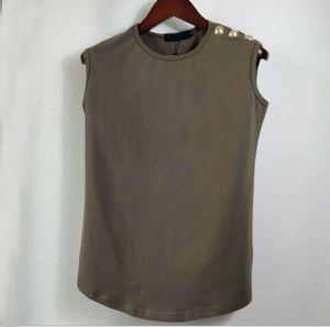 Kollu Erkekler Ve Kadınlar T Shirt Yelek Kadın Pamuk T-shirt Erkek O Boyun için Yüksek Kaliteli Adam T-shirt Erkek ve Kadın Tişörtleri Yelek
