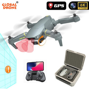 GPS drone 4k profesional 6K HD Camera Quadrocopter Adjustable Gimbal Wifi fpv Follow Me Drones RC Obstacle Sensing Dron VS E58