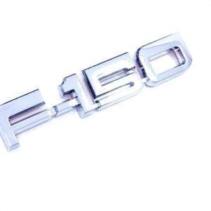 ABS пластиковый F150 F-150 эмблема для XLT LARIAT пользовательских хромированных наклейка автомобиля значок наклейка эмблема эмблемы