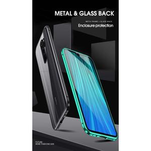 360 Magnetic Adsorption Metal Case For Xiaomi Redmi Note 9 8 7 K20 Pro 8t 9a 8a Mi Note 10 L wmtLnv