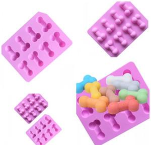 Originalidad Molde de hielo Moldes de hielo Moldes de chocolate divertido Moldes de chocolate Tensor Pastel Decoración Suministros Verde Jlldkq Carshop2006