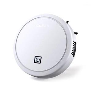 USB зарядки интеллектуальный ленивый робот беспроводной вакуумный очиститель подметающий вакуумный очиститель роботы ковер бытовая чистка белый1