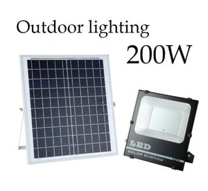Solar Lights LED Spotlight 30W 50W 100W 200W Remote Control Floodlight Tuinverlichting Street Lamp Waterproof IP67