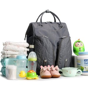 Baby Infant Nappy Changing Bag Portable Large Capacity Folding Crib Diaper Backpack Stroller Straps Pad for Travel Outdoor