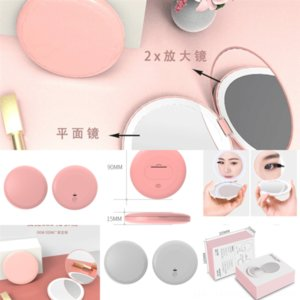 Eyg Honbay Fashion Marble Less Lens Case Portable Contact Lenskit Lady Wave Pattern V Portable Mirror Case with Mirror Contact Set