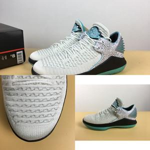 32 Haute Qualité XXXII Bas de basket Basketball Nouveaux Mens 32s Métallique Argent Black Jade Sports Sneakers Mode avec Boîte