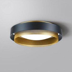 الأمريكي سقف فاخر مصباح غرفة المعيشة الإضاءة الحديثة الحد الأدنى ضوء في غرفة النوم مطعم الإضاءة أدى سقف مصباح