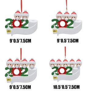 Семья Детский Снеговик Рождественский подарок Новый FA выживший 2020 носить рождественскую маску для взрослых украшение кулон маску EJRKN