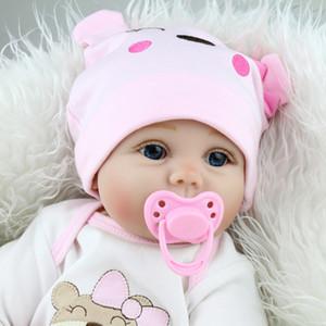 43 cm Juguetes para bebés Niños Infantil Niño LifeLike Reborn Baby Doll Newborn Doll Kid Girl Playmate Regalos de regalo de cumpleaños