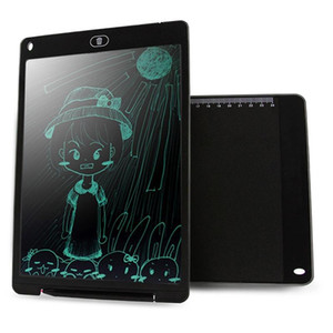 CHUYI Portable 12 inch LCD Writing Tablet Drawing Graffiti Electronic Handwriting Pad Message Graphics Board Draft Paper with Writing Pen C