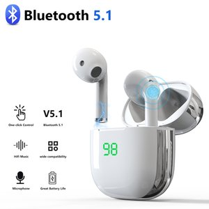 TWS Earbuds Wireless Bluetooth 5.1 Wireless Charging 9D Stereo Headphones with Mic for iphone Samsung Xiaomi Huawei
