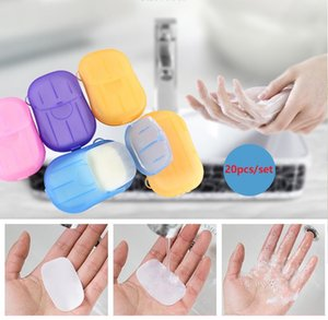Big Discount! 1500 lots Disposable Boxed Soap Paper Portable Aromatherapy Hand Wash Bath Travel Mini Soap Box Soap Base Bathroom Accessories