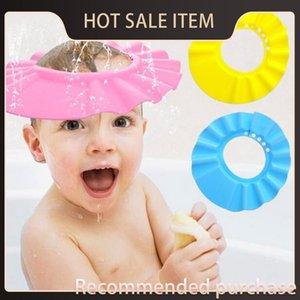Soft Safe Tonsee Baby Gorro Gorro Niños Baño Bañera Proteger 2015 Wg10 Sombrero para Champú para bebés Niños Ducha de Ducha Cap Cap ppwch