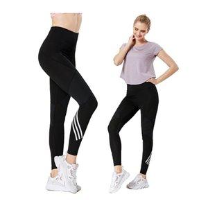 Pantalones de yoga Tallas grandes Energía Energía sin costura Leggings High Cintura Corriente Fitness Deporte Leggings Atlético Mujer corriendo Pantalones 201103